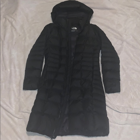9cd5d9065 Women's North Face Black Down Long Puffer Jacket S